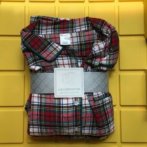 Two-piece flannel sleep set